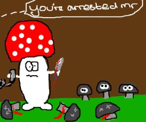mass mushroom murderer caught
