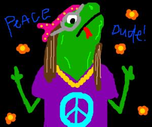Reptilian Hippie.