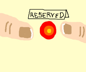 Reserved spot
