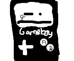 Game Boy Black and White