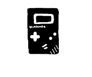 old fashioned gameboy