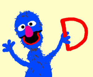 letter of the day D