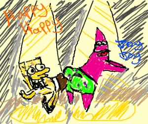 Happy Happy Joy Joy with Spongebob and Patrick