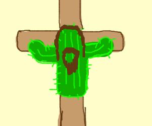 Jesus Cactus