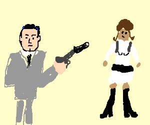 Sterling Archer and Lana Kane