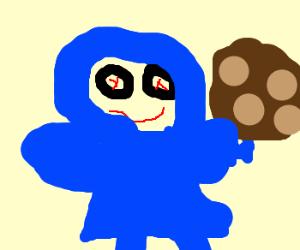 Cookie monster's crackhead grandma