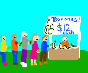There's always money in the banana stand!