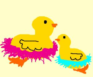 Tutu ducks!