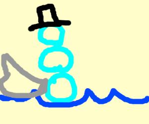 snowman whale