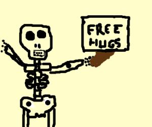 Skeleton Want Hugs