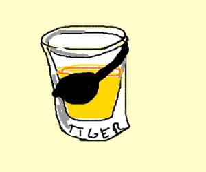 Tiger shot