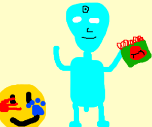 Blue's Clues with Dr. Manhattan