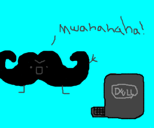 Mustache Twirlers use Internet for Evil