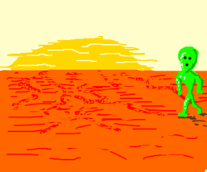 One Solar day on Planet Mars note