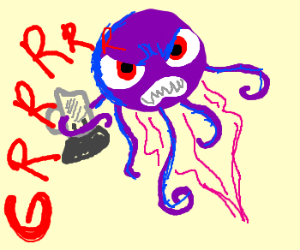 Growling Jellyblenderfish