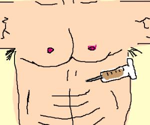 Drug gives man 10-pack abs