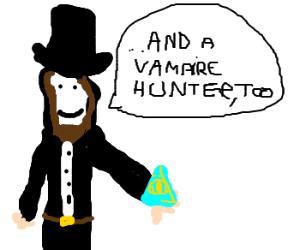 Lincoln reveals secret, is Illuminati member