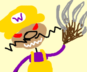 Watch out! It's Wario Kruger!