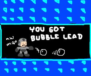 megaman bubble power