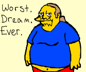 Inception, starring Comic Book Guy