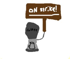 Stupid coffee machine won't work... !
