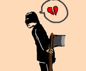 Executioner simply wants love