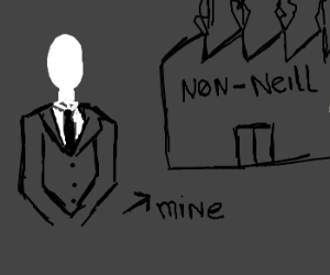 Slender Man owner of Non-Neill Factories Inc.