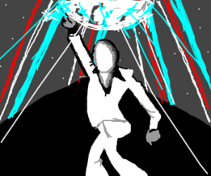 Slender Man is king of the disco.