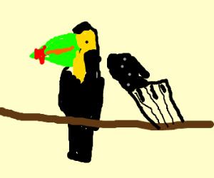 Keytar Toucan