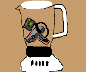 Will it Blend: Nes Edition