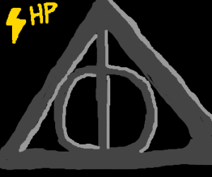 HP Deathly Hallows symbol