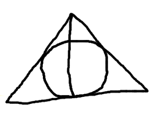 Circle, inside a Triangle, Split By Line.