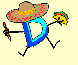 Drawception has a taco for their amigos