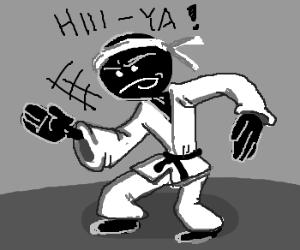 The Karate Stickman