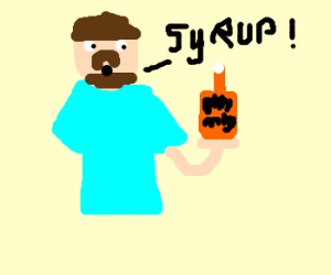 Billy Mays sells syrup