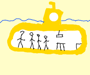 we all live in a yellow submarine!!!