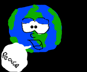 Earth at peace