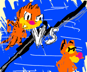 Forestfighter II' - Garfield VS Tigger