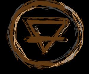 brown earth element symbol