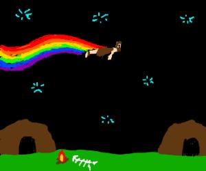 Nyan-derthal Man.