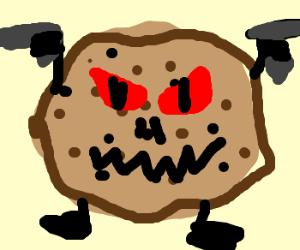 Evil cookie gets revenge