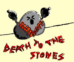 Rock bomber