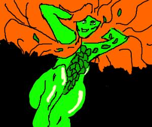 Draw a Sexy Plant Lady