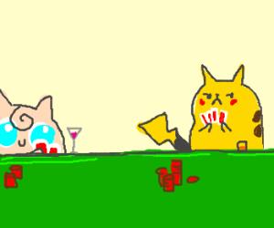 Pikachu's Poker Face :3