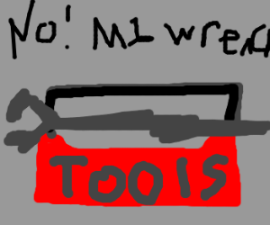 Alas, brand new wrench doesn't fit in toolbox