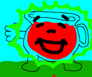 Radioactive Kool Aid Man