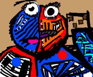 """Picasso's """"The Cookie Monster"""""""