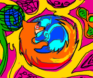 Psychadelic Fox Tripping Out!