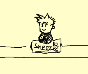 Kid will make you sneeze for just $2!!!