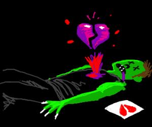 zombie dies of broken heart